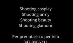 Servizi fotografici Shooting fotgrafici Cosplay a Pordenone